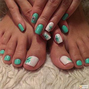 Узоры на ногтях рук и ног