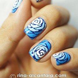 Сложный дизайн ногтей