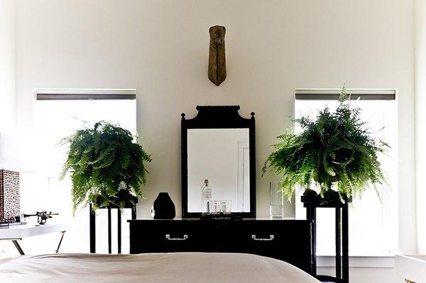 Подставка под растения для спальни