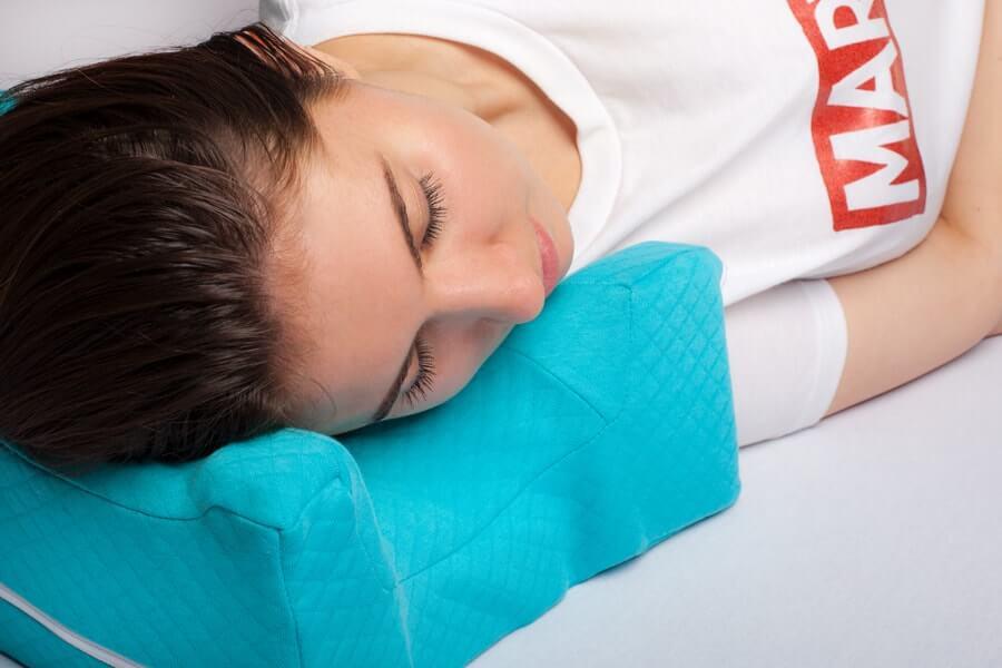 Подушка против морщин